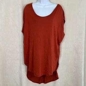 Pure + Good by Anthropologie short sleeve tunic XS